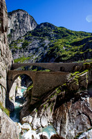 Devil's Bridge and the Schöllenen Gorge